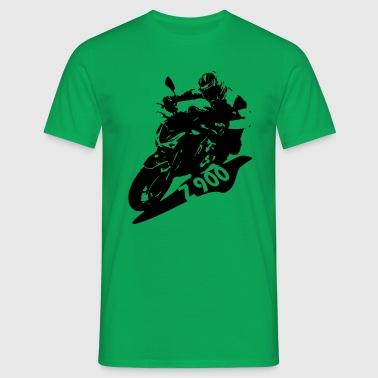 K Z 900 schrift - Männer T-Shirt