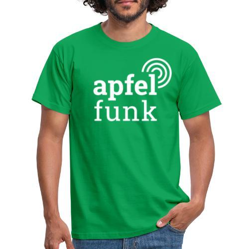 Apfelfunk Dark Edition - Männer T-Shirt