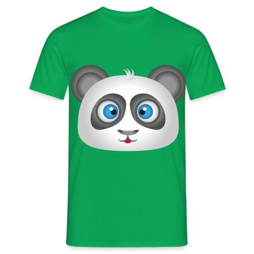 panda head / cabeza de panda 2 - Camiseta hombre