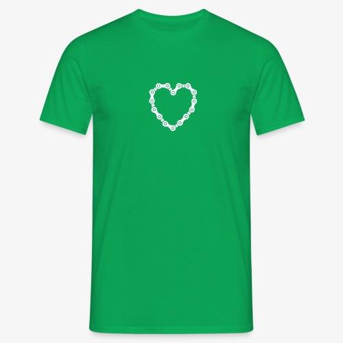 bike love - Men's T-Shirt