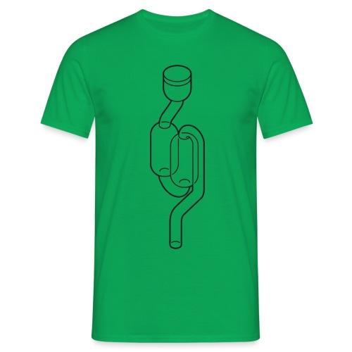 waterslot huge - Mannen T-shirt