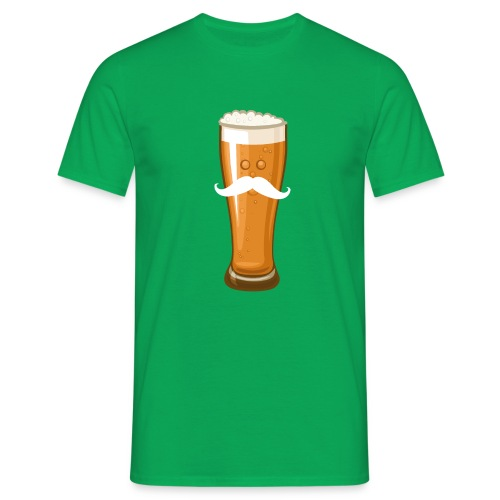 Bière Moustache - T-shirt Homme