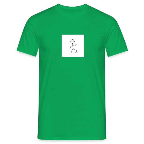 stick man t-shirt dance 1,0 - Herre-T-shirt