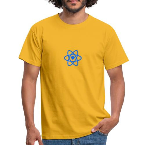 Sketch2React Logo Blue - Men's T-Shirt