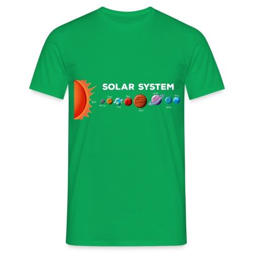 SOLAR SYSTEM - Maglietta da uomo