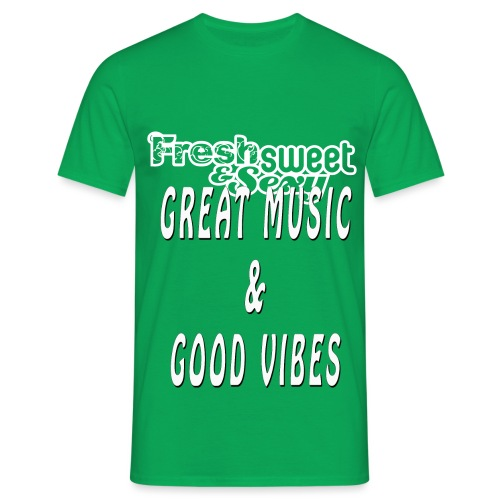 Great Music & Good Vibes - Men's T-Shirt