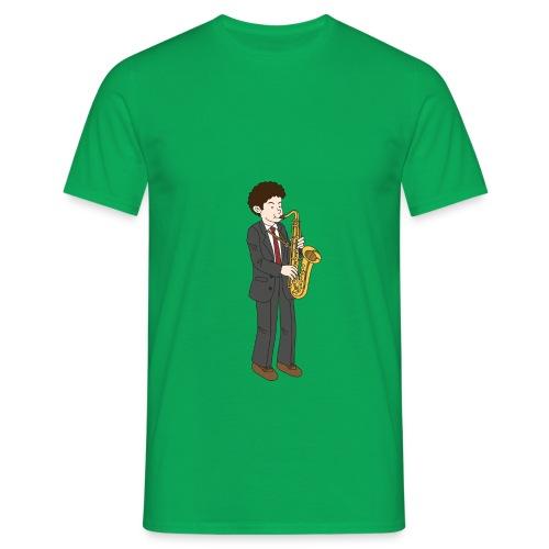 Saxofonist - T-skjorte for menn