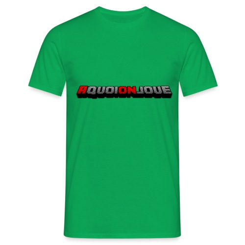 AquoiOnJoue 2017 png - T-shirt Homme