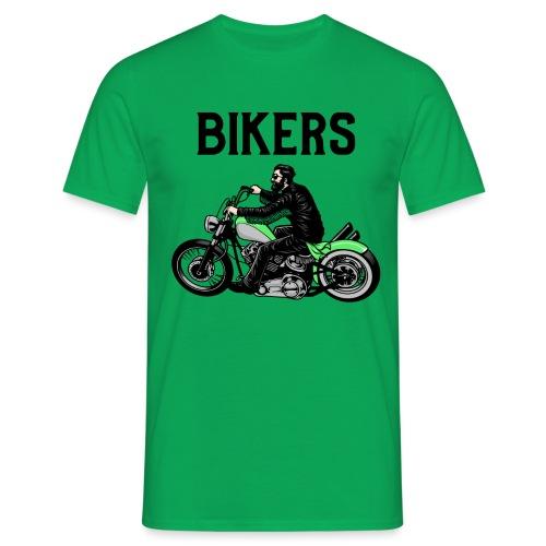 Green bikers - T-shirt Homme