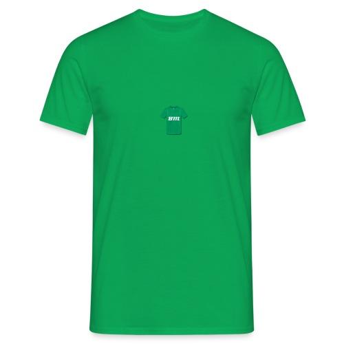 BM groen t-shirt - Mannen T-shirt