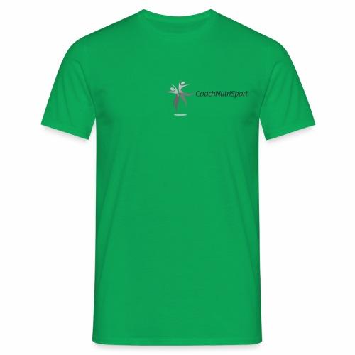 Logo Coachnutrisport en noir - T-shirt Homme