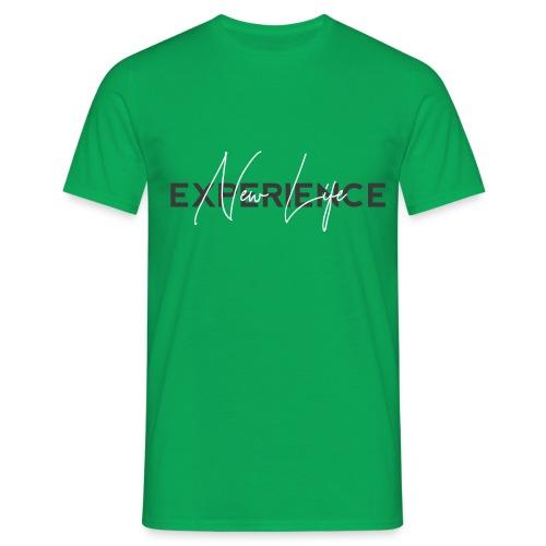 Experience New Life - Mannen T-shirt