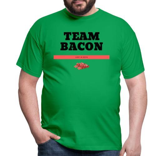 TEAM BACON Shirt Keto.Lifestyle. - Männer T-Shirt