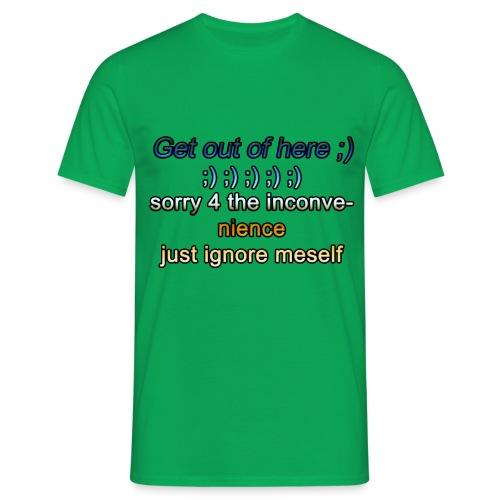 GetOut - T-shirt Homme