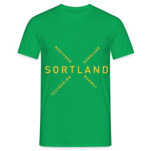 Sortland - Northern Norway - T-skjorte for menn