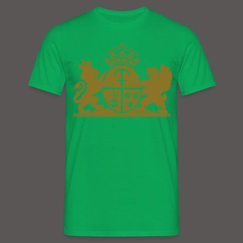 heraldic-lion-vector-imag - T-shirt herr