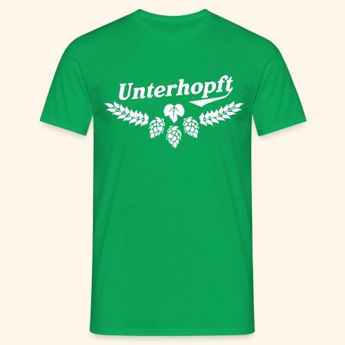 Unterhopft - das Original - Männer T-Shirt