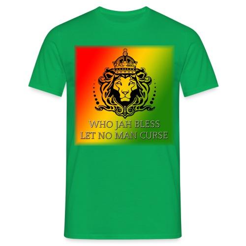 WHO JAH BLESS DESIGN - Men's T-Shirt