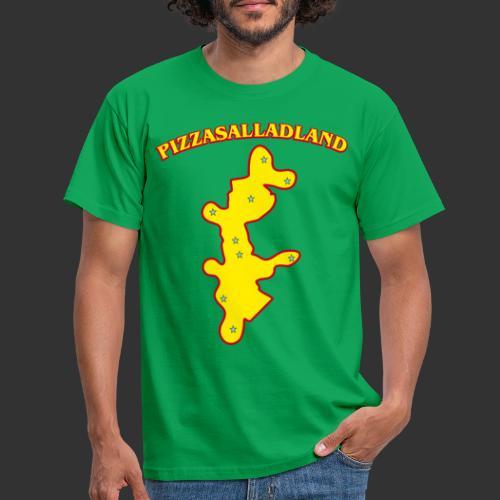 Pizzasalladland - T-shirt herr
