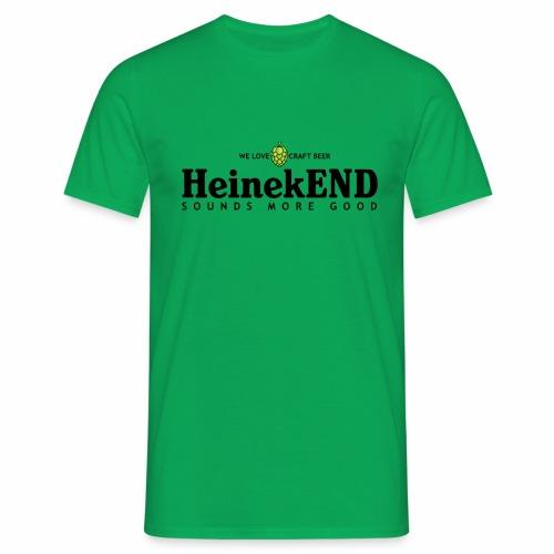 HeinekEND scritta nera - Maglietta da uomo