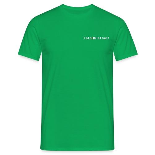 Geschenke für Amateurfotografen helles Design - Männer T-Shirt