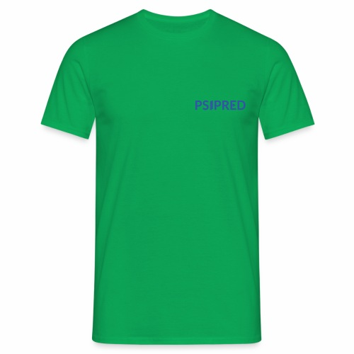 Logo in blue - Men's T-Shirt