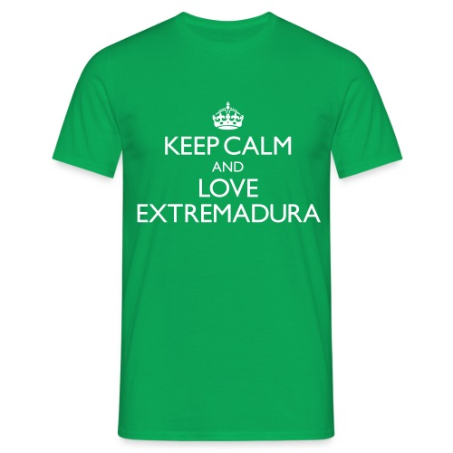 keepcalm and love Extremadura - Camiseta hombre