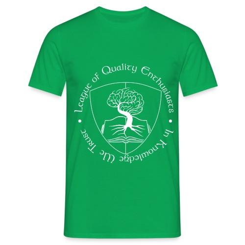 League of Quality - Männer T-Shirt