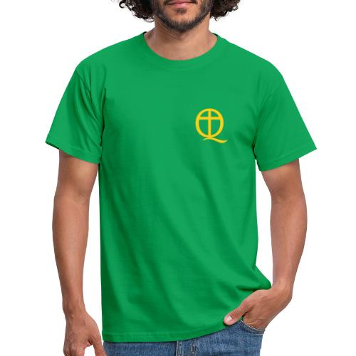 QC Gul - T-shirt herr