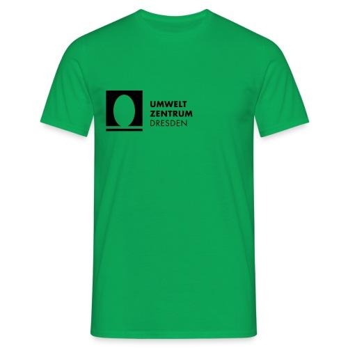 UZ-Logo-h-Schwarz - Männer T-Shirt