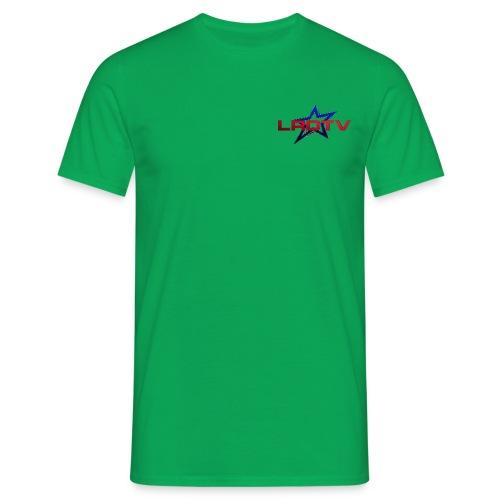logo rouge - T-shirt Homme