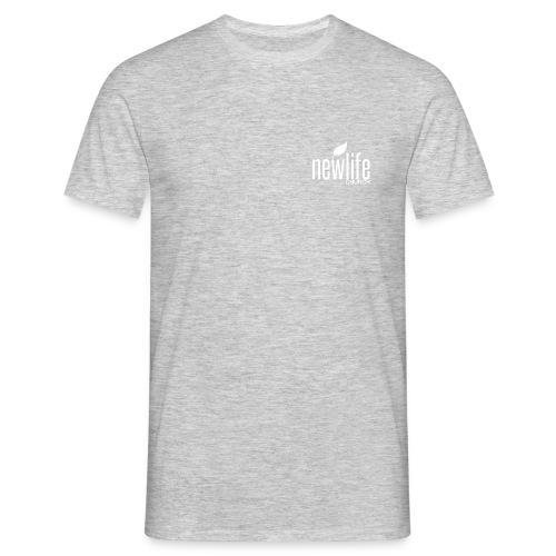 NLC LOGO WHITE - Mannen T-shirt