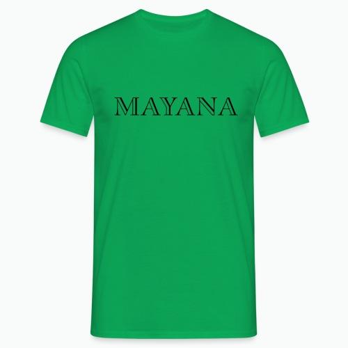 MAYANA NOIR - T-shirt Homme