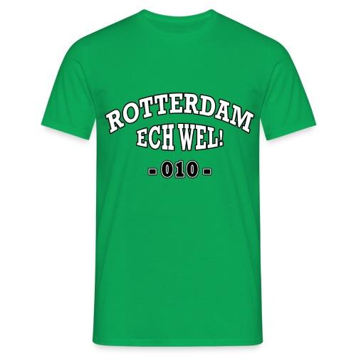 Rotterdam ech wel 010 - Mannen T-shirt
