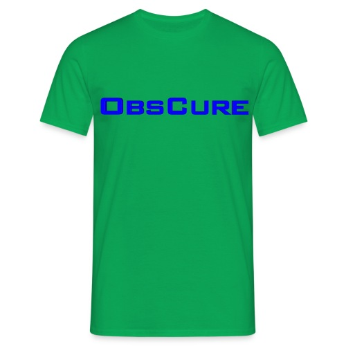 14038 2CObsCure - Men's T-Shirt