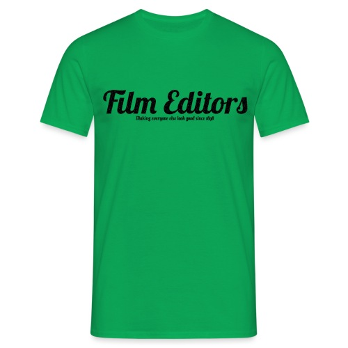film editors logo - Men's T-Shirt