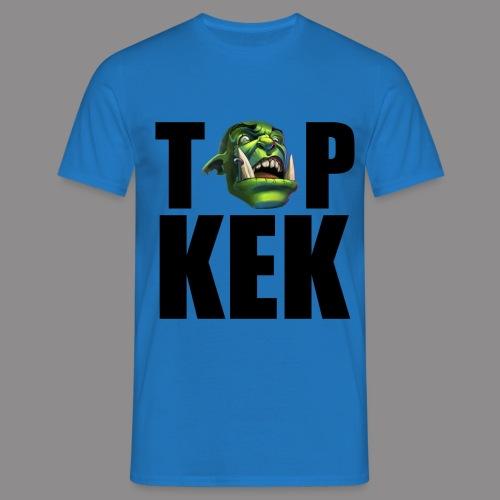 Top Kek cerna - Men's T-Shirt