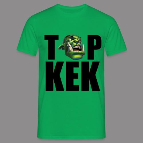 Top Kek cerna - Men's T-Shirt