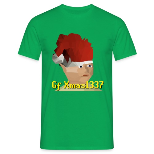 Gnomechild Christmas - T-skjorte for menn