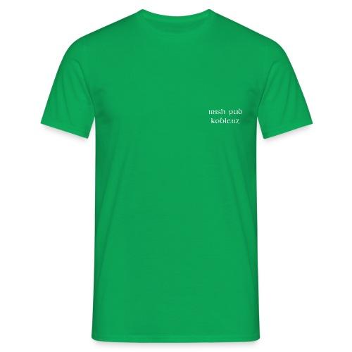 IRISH PUB KOBLENZ weiß fo - Männer T-Shirt