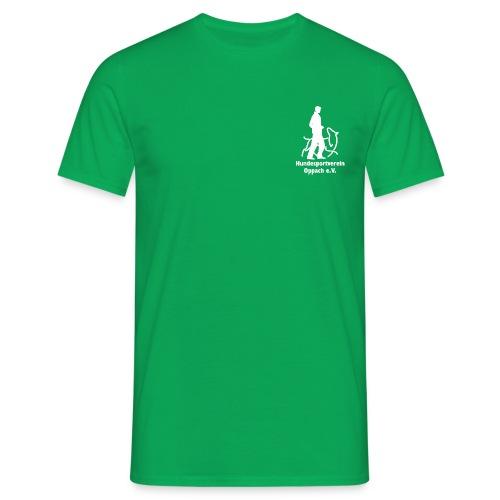 Hund_weiss - Männer T-Shirt