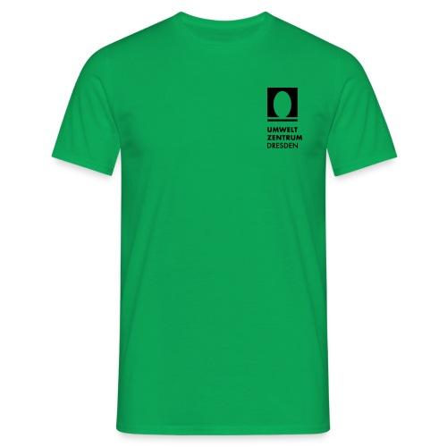 UZ-Logo-v-Schwarz [Konver - Männer T-Shirt