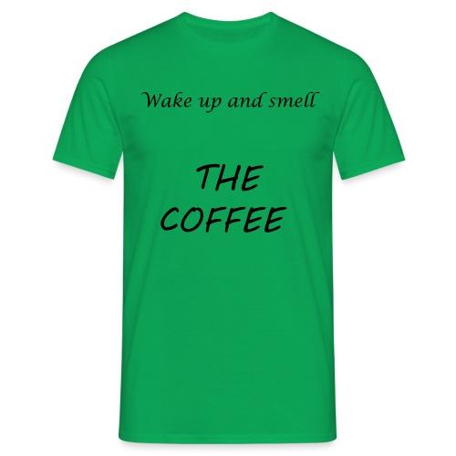 t-shirt coffeesmell - T-shirt Homme