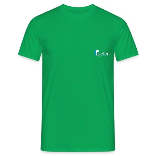 ITsjefen logo - T-skjorte for menn