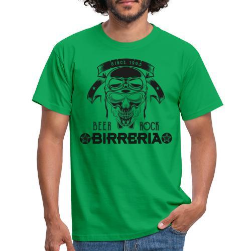 Classic Birreria Rock Skull - Männer T-Shirt