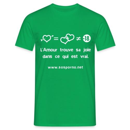 True love - T-shirt Homme