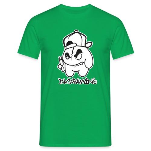 Graffiti Character White - Men's T-Shirt