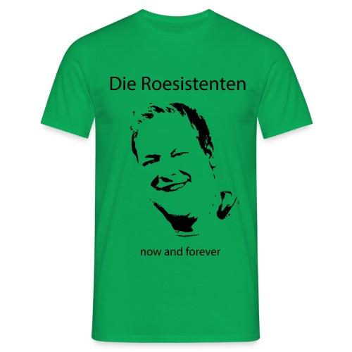 Roesistenten Official - Männer T-Shirt