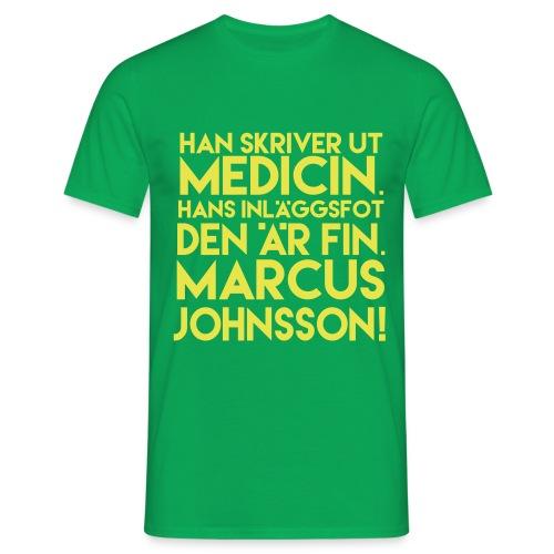 medicin - T-shirt herr
