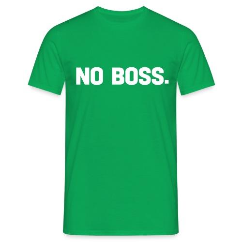 no boss - T-shirt herr